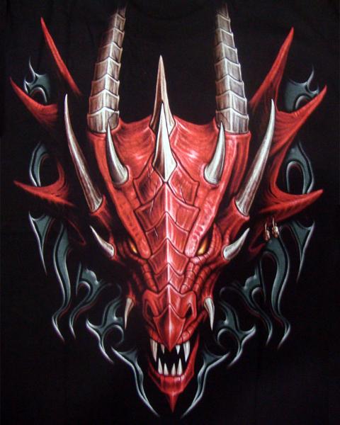 Japanese Yakuza Gothic Vampire Skull Chinese Dragon Tattoo ...  |Chinese Dragon Vampire