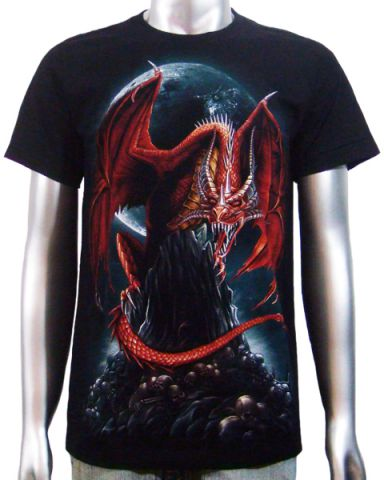 Asian Chinese Dragon T-shirt: click to enlarge