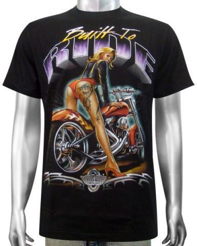 Chopper Sexy Girl T-shirt: click to enlarge
