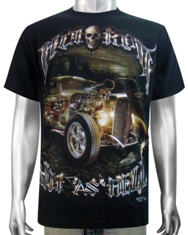 Hot Rod ( Hot As Hell ) T-shirt: click to enlarge