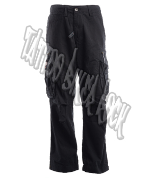 Molecule Mens Black Combat Trousers: click to enlarge
