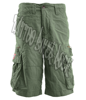 Molecule Mens Khaki Combat Shorts: click to enlarge