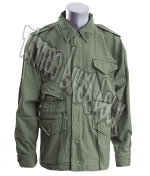Molecule Mens Khaki Combat Jacket: click to enlarge
