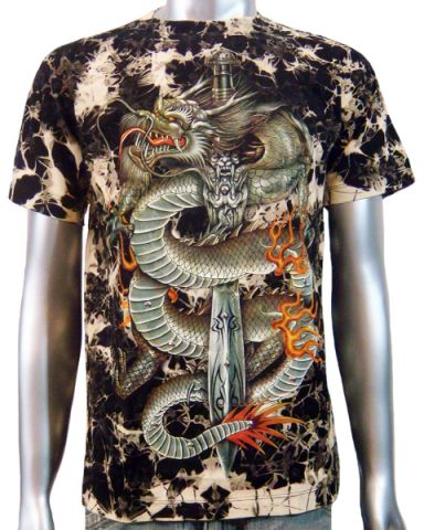 Chinese Dragon Dagger T-shirt: click to enlarge