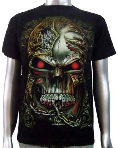 Tattoo Style Skull T-shirt: click to enlarge