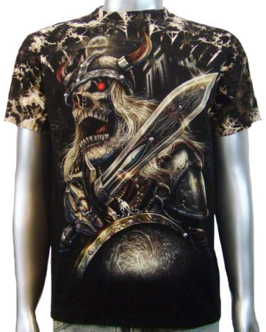 Viking Warrior Sword T-shirt: click to enlarge