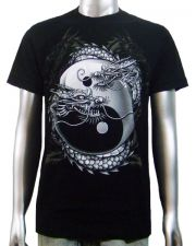 Chinese Dragon Yin-Yang T-shirt