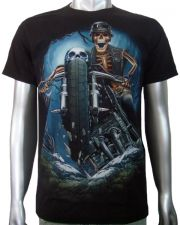 Chopper German Helmet T-shirt