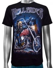 Hell Rider Biker Chopper T-shirt