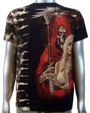 Grim Reaper Sexy Lady T-shirt