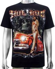 Hot Rod Bikini Girl T-shirt