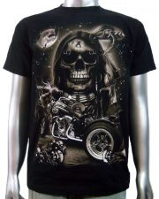 Indian Skull Chopper Trike T-shirt