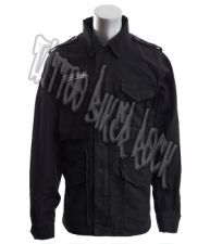 Molecule Mens Black Combat Jacket