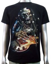Rasta Guitar Player T-shirt