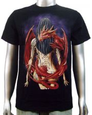 Chinese Dragon Tattoo Girl T-shirt