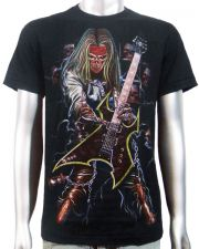 Skeleton Electric Guitar T-shirt