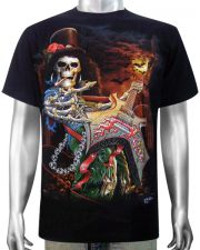 Skeleton Bass Guitar T-shirt